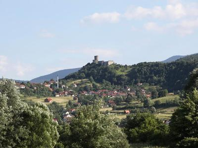 Medieval and Ottoman town of Sokolac